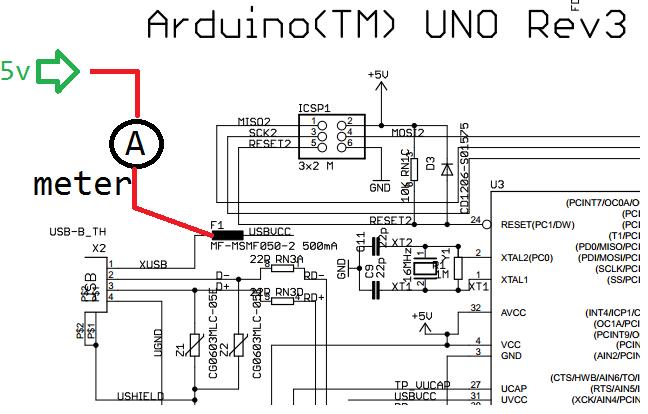 arduino power consumption