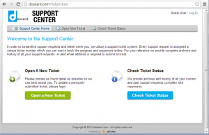 dossant support center cron job setup bluehost osticket