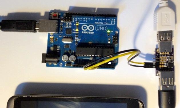 arduino current usb measure